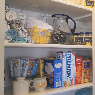 My organized kitchen pantry is an example of what the Gallup CliftonStrengths Theme of Discipline does! Gallup-Certified Strengths Coach