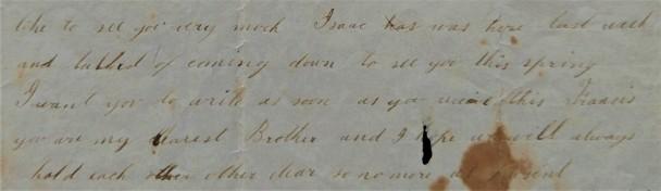 1857 Emma letter